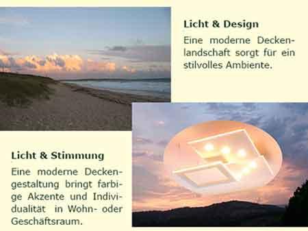 Deckensegel-LED: Licht für gute Laune | Home-Style-Design.com